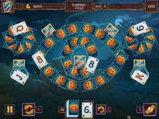 Solitaire Game Halloween 2 - Screen 1