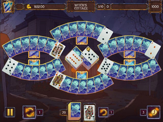 Solitaire Game Halloween 2 - Screen 2