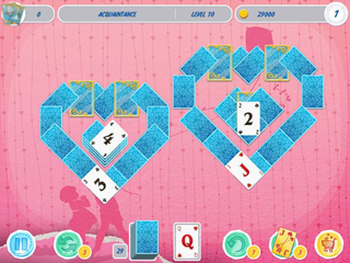 Solitaire Valentine's Day 2 - Screen 1