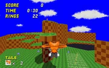 Sonic 3D Robo Blast II - Screen 2