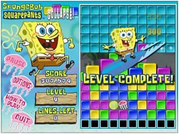 Sponge Bob Collapse - Screen 2