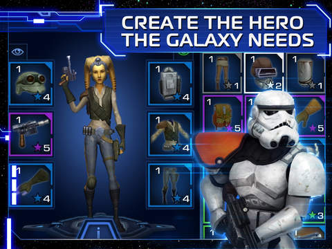 Star Wars: Uprising - Screen 1