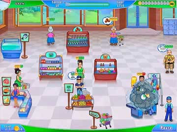 Supermarket Management 2 - Screen 1