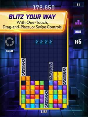 Tetris Blitz - Screen 2