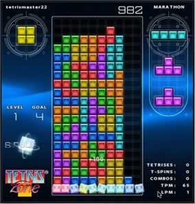 Tetris Zone - Screen 1