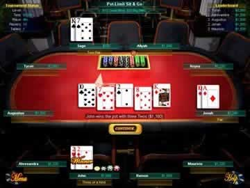 Texas Hold Em - Screen 2
