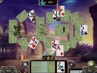 The Far Kingdoms: Sacred Grove Solitaire - Screen 1