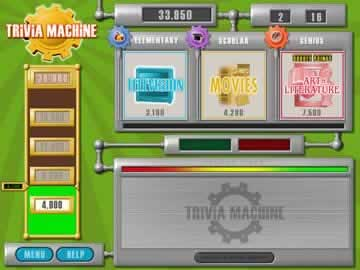 Trivia Machine - Screen 2