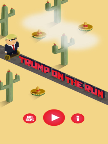 Trump on the Run - Screen 1
