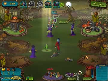 Vampires Vs Zombies - Screen 2