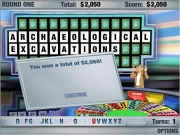 Wheel of Fortune - Screen 2
