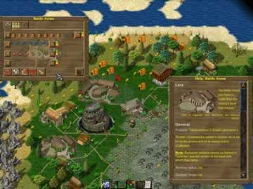 Widelands - Screen 2