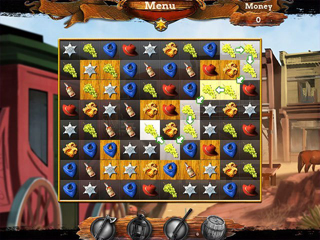 Wild West Chase - Screen 1