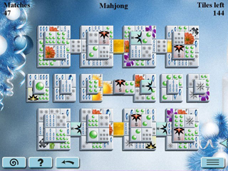 Winter Mahjong - Screen 1