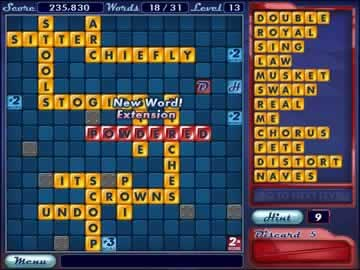 Word Slinger - Screen 1