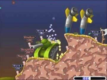 Worms 2 - Screen 1