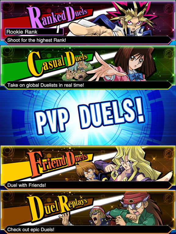 Yu-Gi-Oh! Duel Links - Screen 2