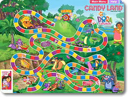 Candy Land: Dora the Explorer Edition