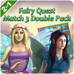 Fairy Quest Match 3 Double Pack