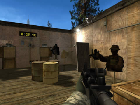 army shooting games free