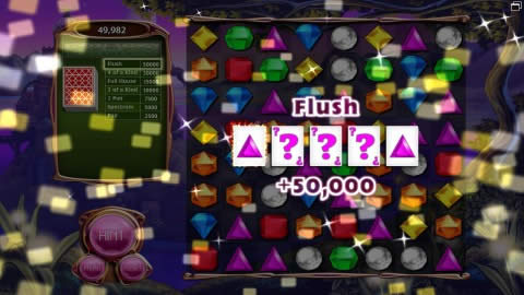 Bejeweled 3 Poker Mode