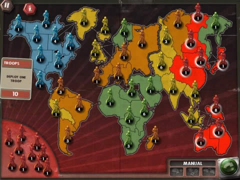Risk World Map