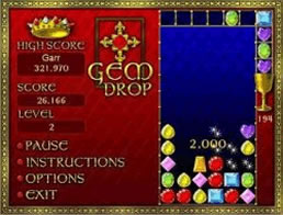 online free gem drop game