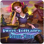 Sweet Solitaire School Witch