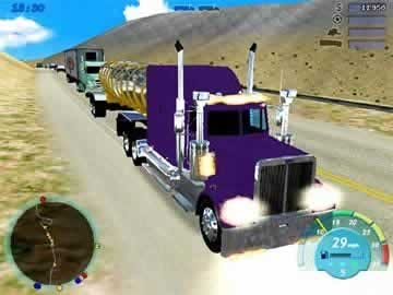 18 Wheels of Steel Convoy - Screen 1