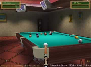 3D Live Pool - Screen 1