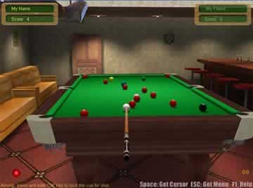 3D Live Snooker - Screen 1