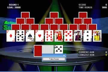Action Solitaire - Screen 2