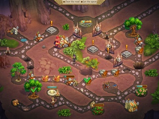 Alicia Quatermain: Secret of the Lost Treasures Collector's Edition - Screen 1