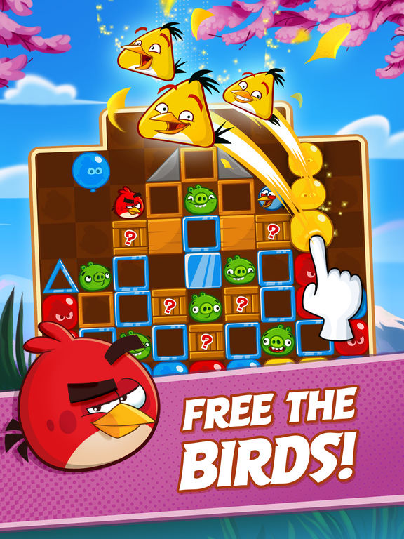 Angry Birds Blast - Screen 1