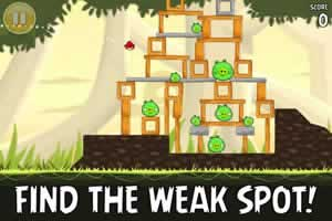 Angry Birds Free - Screen 2