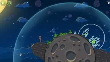 Angry Birds Space - Screen 1
