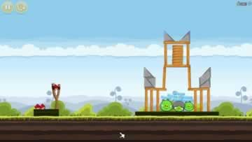 Angry Birds - Screen 1