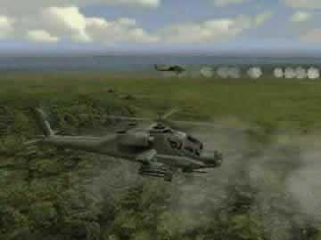 Apache AH-64 Air Assault - Screen 1