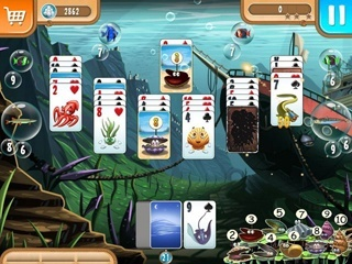 Atlantic Quest Solitaire - Screen 1