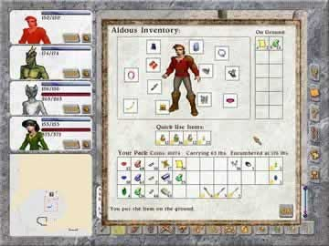 Avernum 5 - Screen 1
