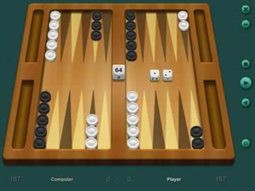 Backgammon Classic - Screen 1