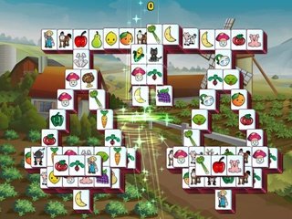 Barnyard Mahjong 3 - Screen 2