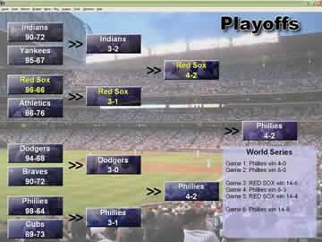 Baseball Mogul 2006 - Screen 2