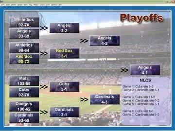 Baseball Mogul 2007 - Screen 1