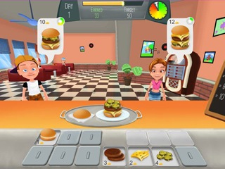 Burger Rush - Screen 1