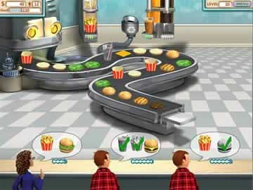 Burger Shop - Screen 2