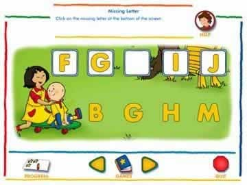 Caillou Kindergarten: Counting and Thinking Skills Combined - Screen 2