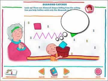 Caillou Preschool - Alphabet, Colors, & Shapes - Screen 1