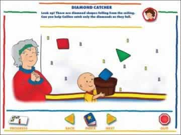 Caillou Preschool - Alphabet, Colors, & Shapes - Screen 2
