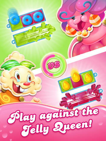 Candy Crush Jelly Saga - Screen 1